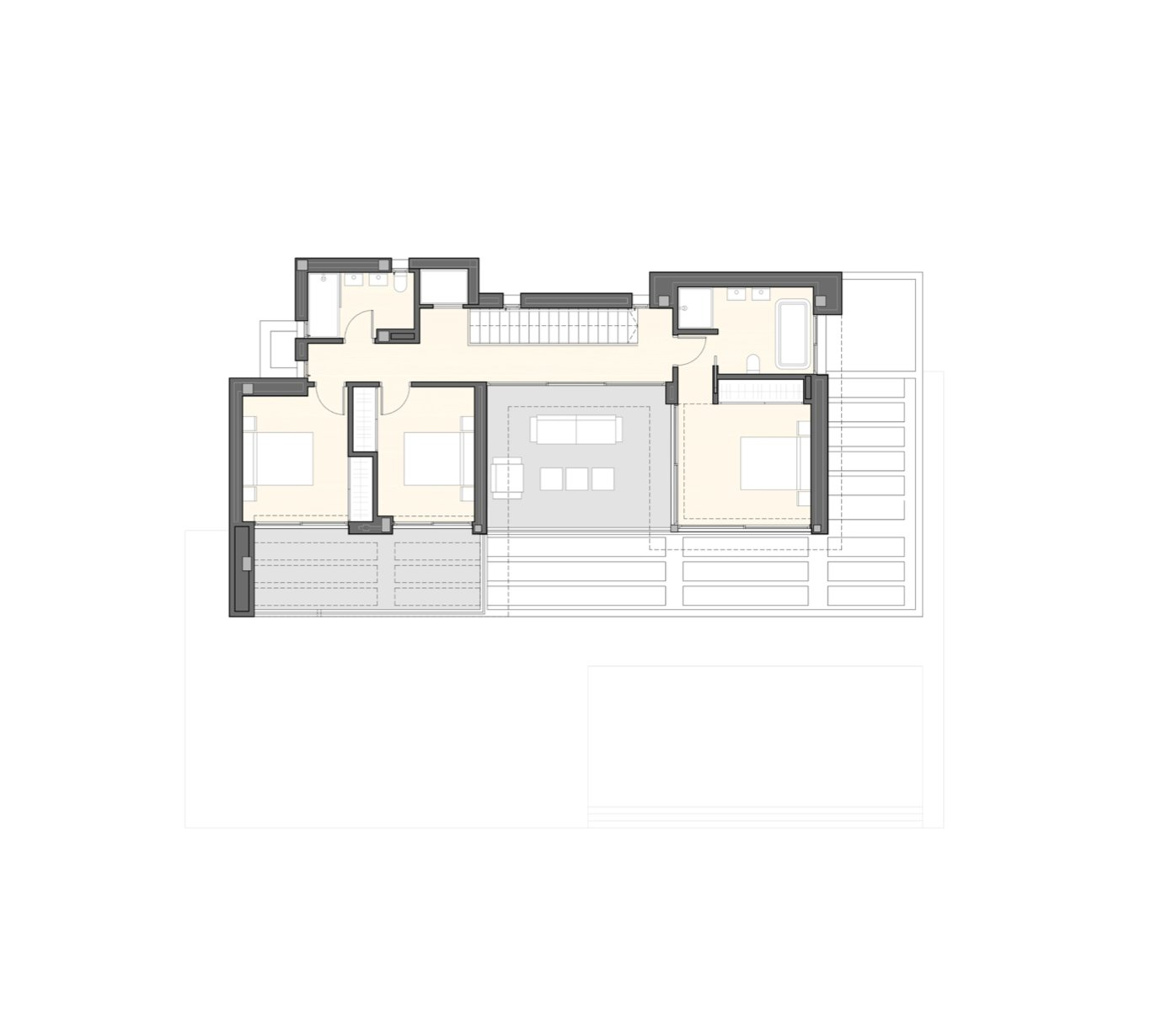 Modern design villa in Moraira