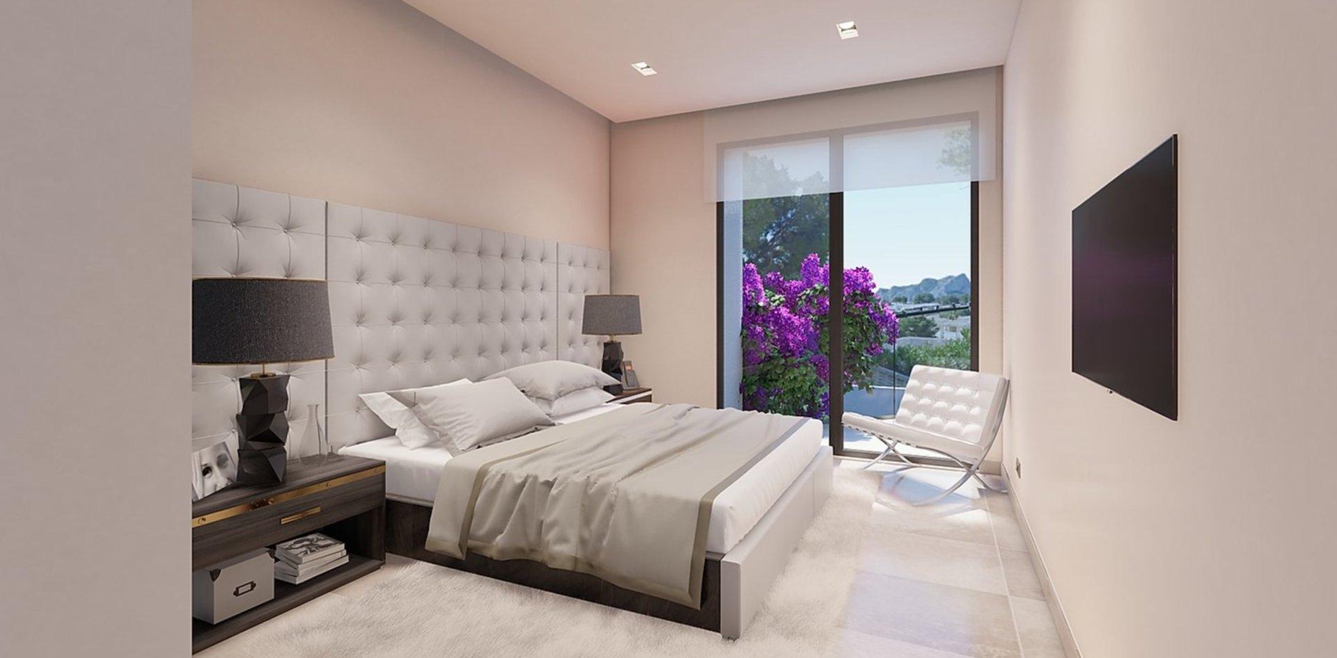Gelijkvloerse villa met 3 slaapkamers