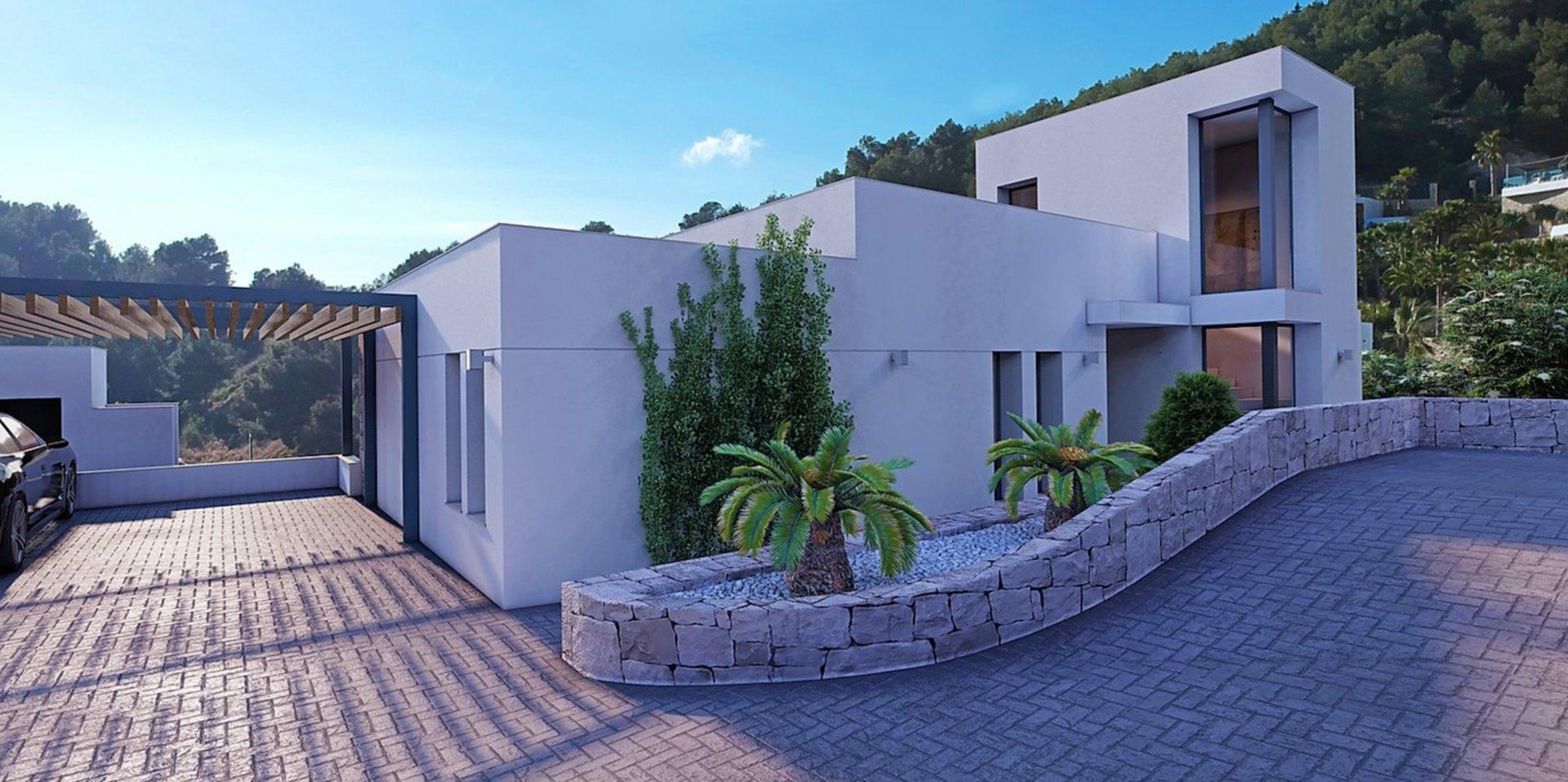 Single floor villa with 3 bedrooms