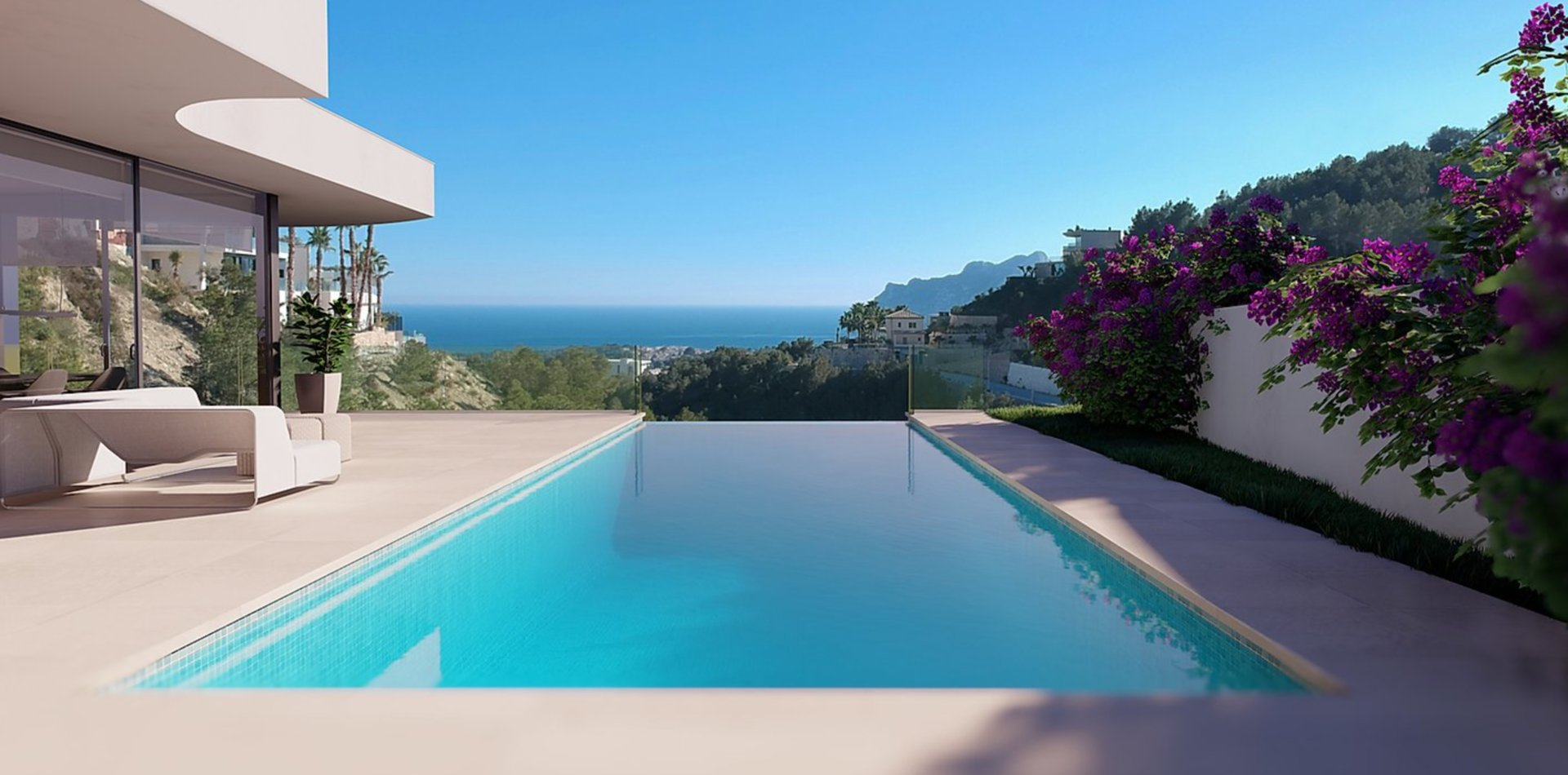 Villa with 4 bedrooms and beautiful views