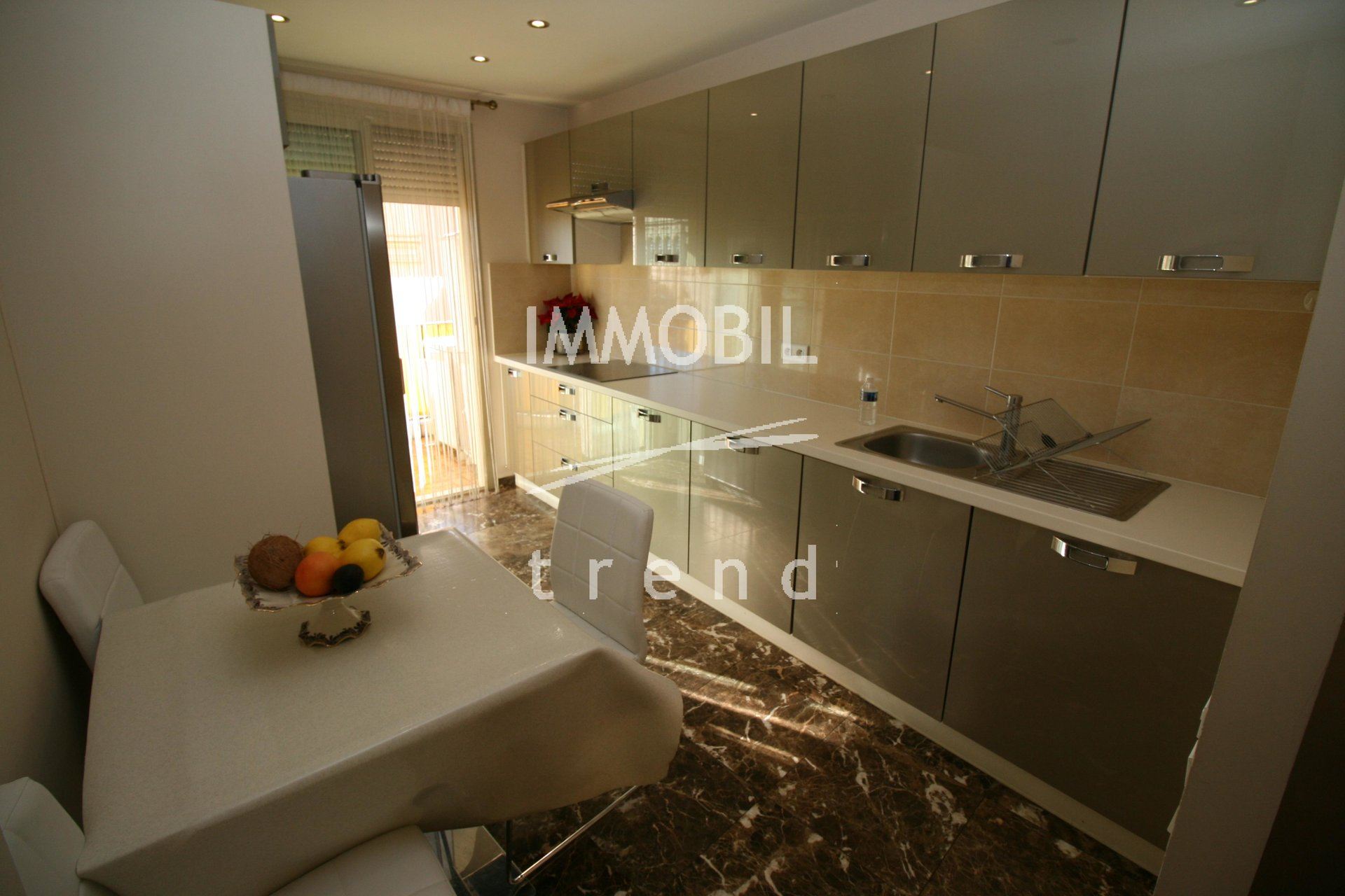 APARTMENT MENTON CASINO - Two bedroom apartment with terrace for sale