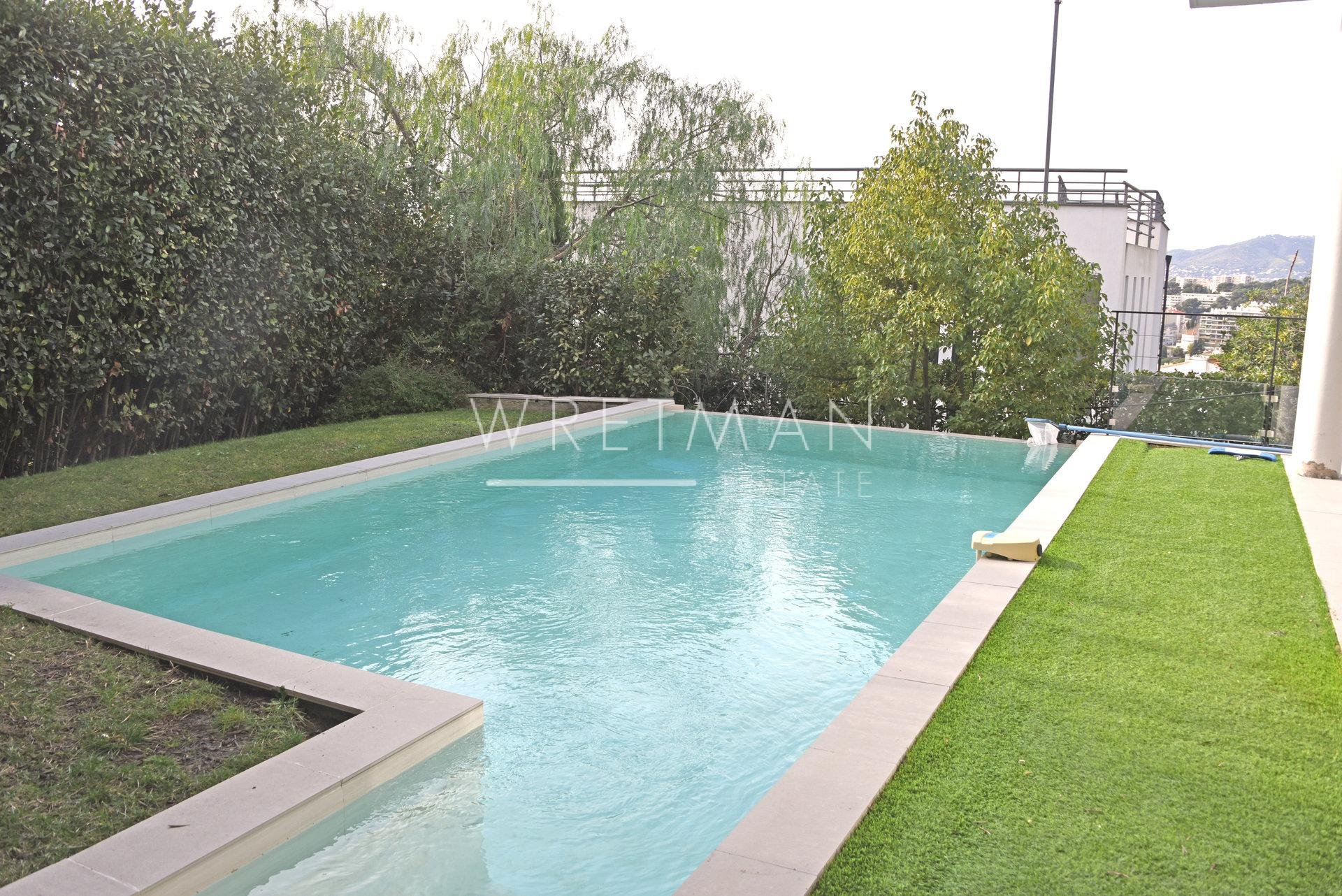 Villa with swimming pool and panoramic sea view - Le Cannet