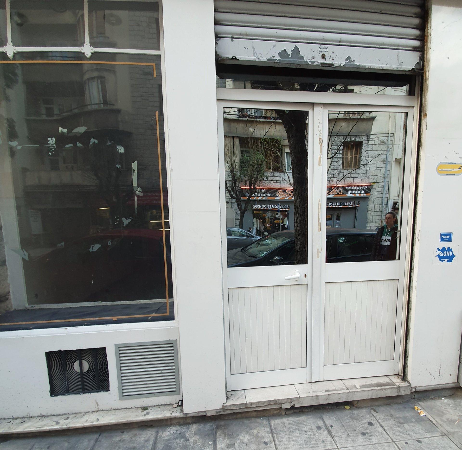Nice-Murs commerciaux-Libération