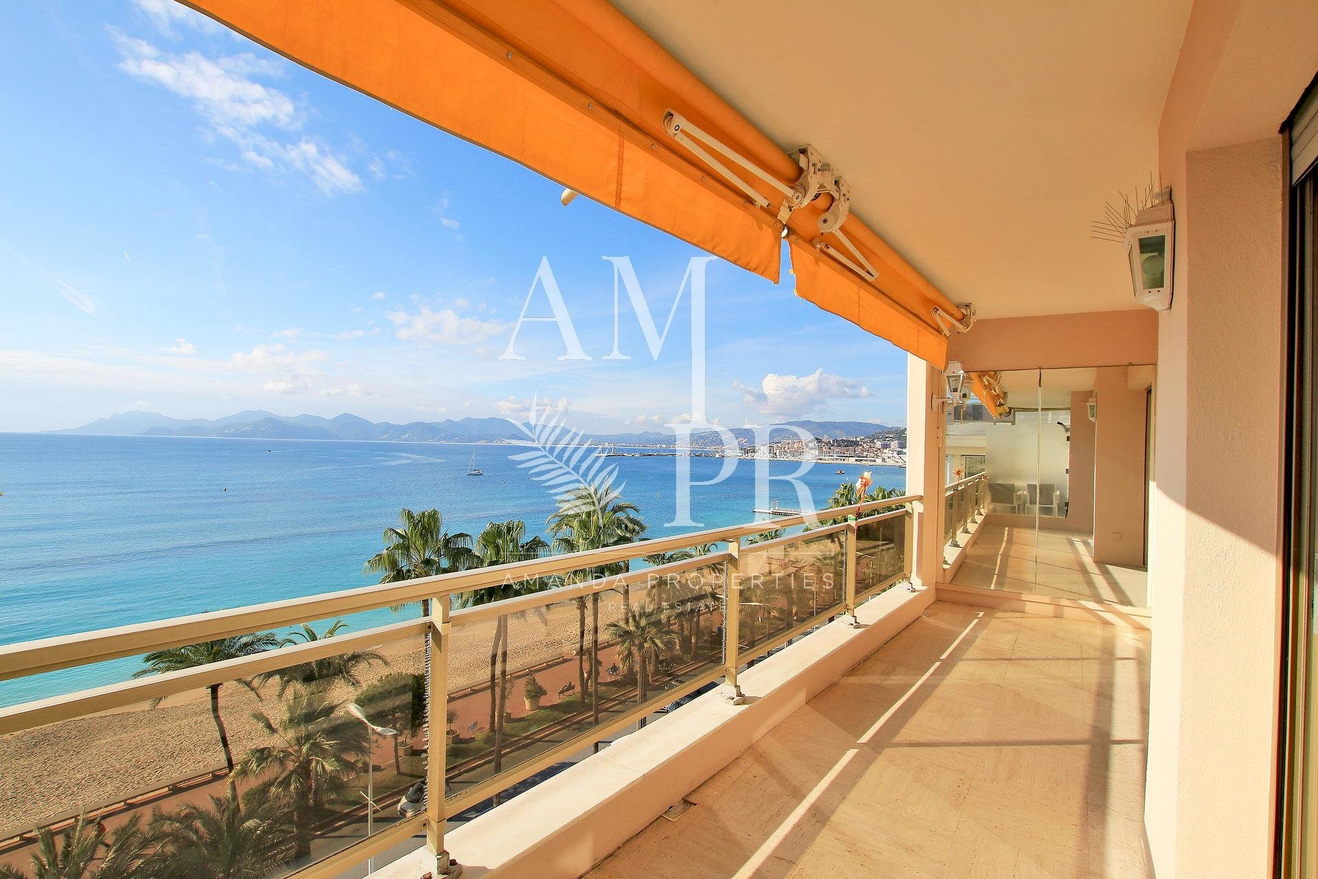 CANNES CROISETTE - CONFORTABLE LARGE 4 PEOPLE FLAT
