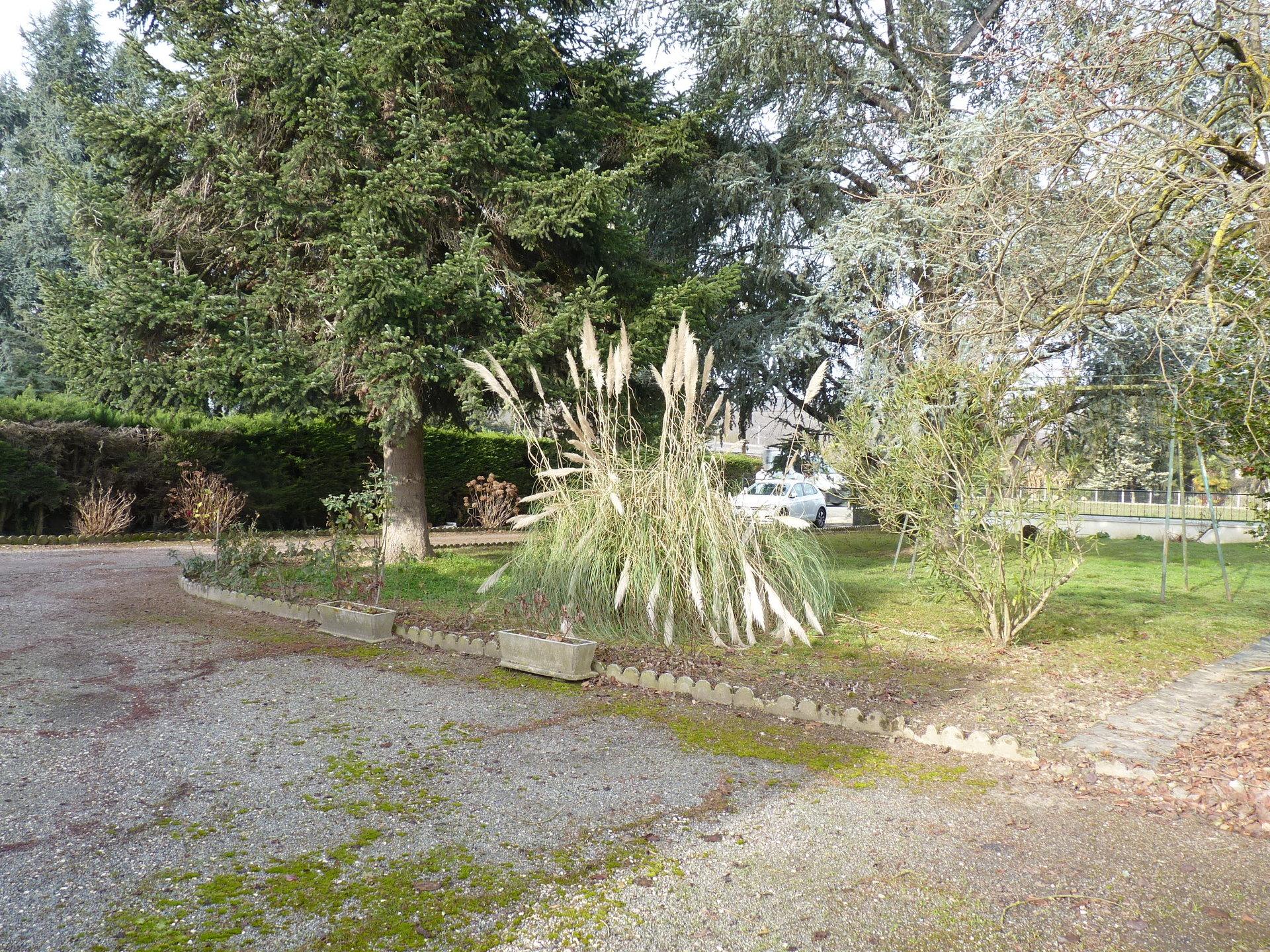 Coquette maison de plain pied sur jardin arboré