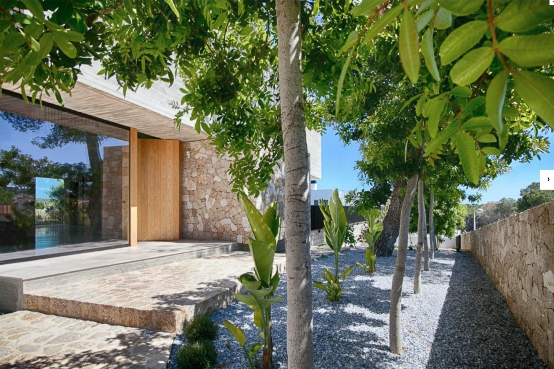 Villa de lujo minimalista en Moraira