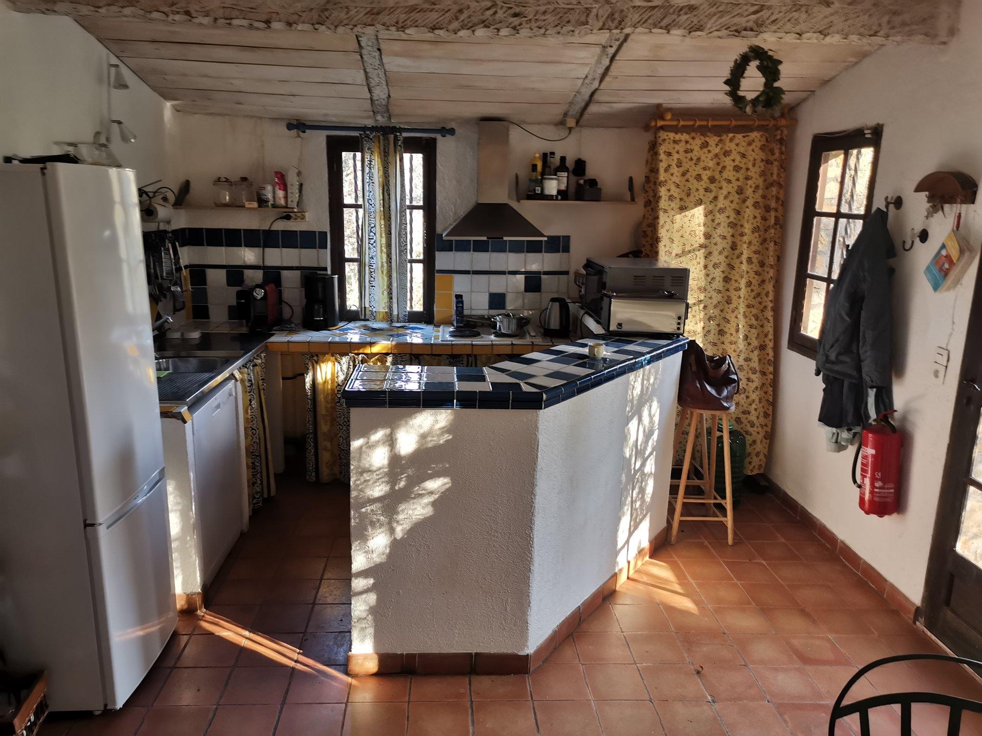 Îlot de cuisine, acier inoxydable