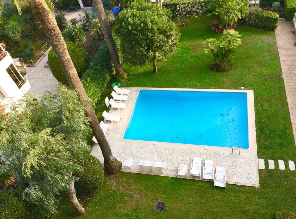 Cannes Palm Beach / Croisette 3P 85 M2  dernier étage vue mer piscine