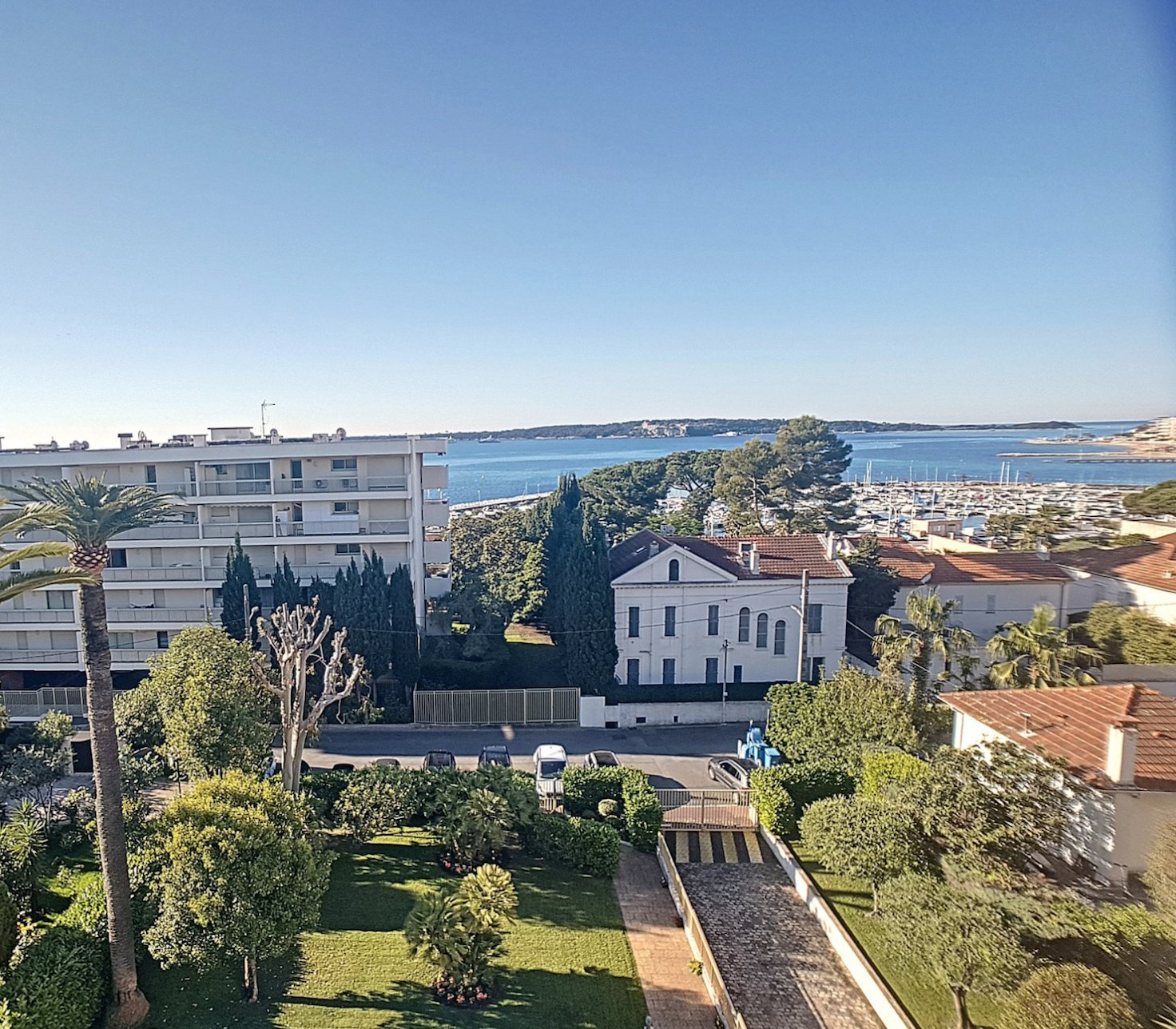 cannes Palm Beach 3P  85 M2 top floor sea view