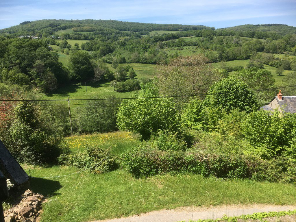 House with beautiful view for sale in the Morvan, Burgundy