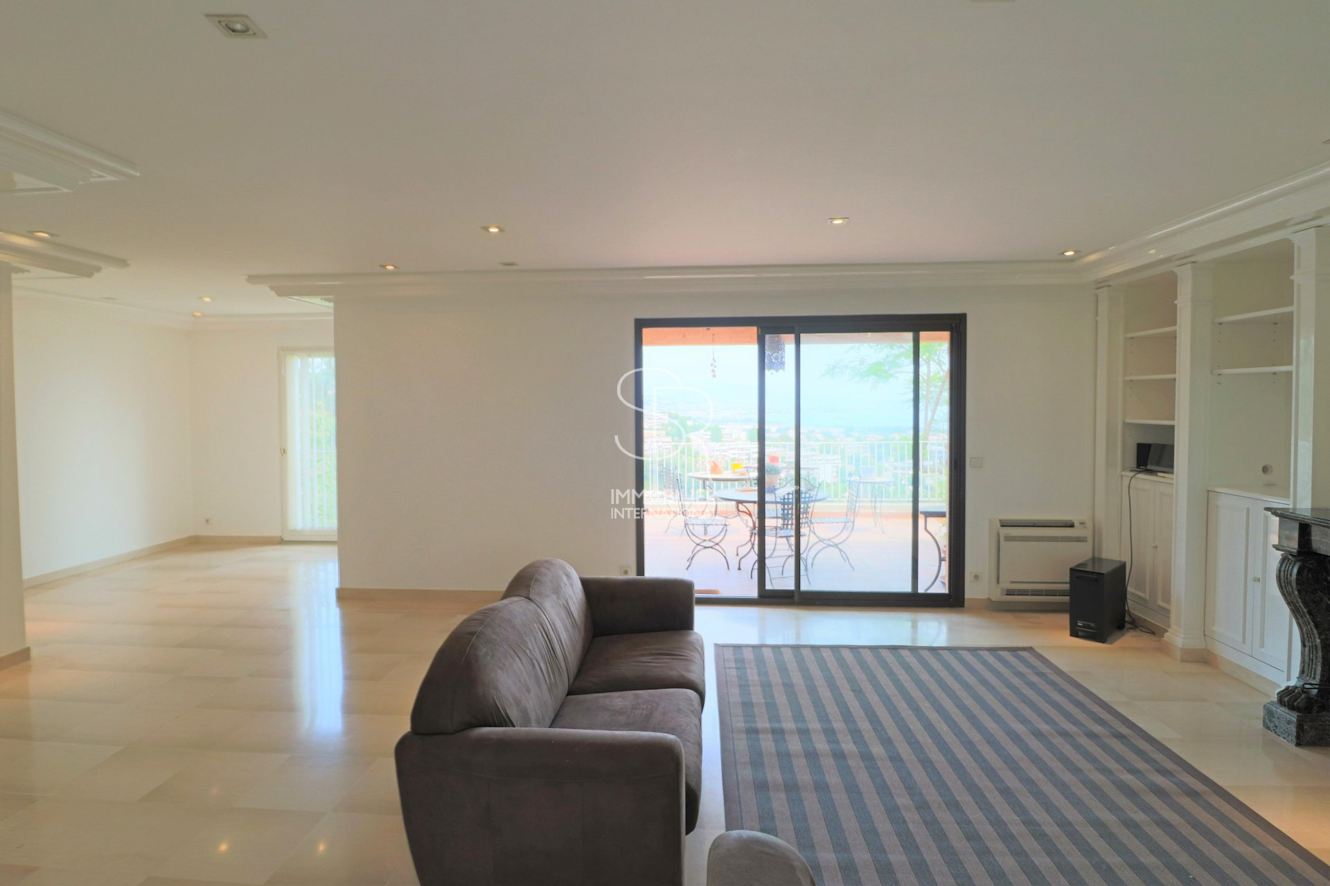 Villeneuve-Loubet - Hauts de Vaugrenier - Sea view 3 bedroom apartment