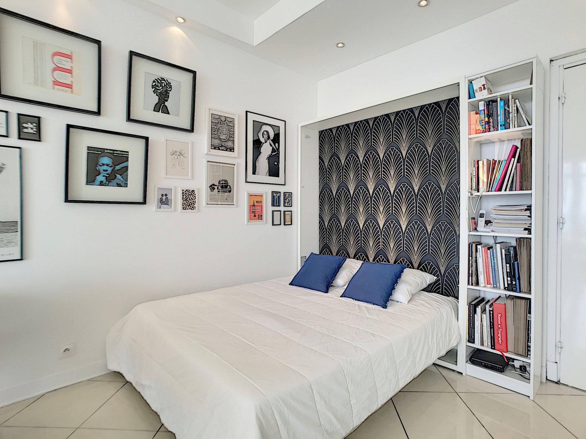 VENTE Appartement Grand Studio Luxe Nice Promenade des Anglais Vue Mer Terrasse