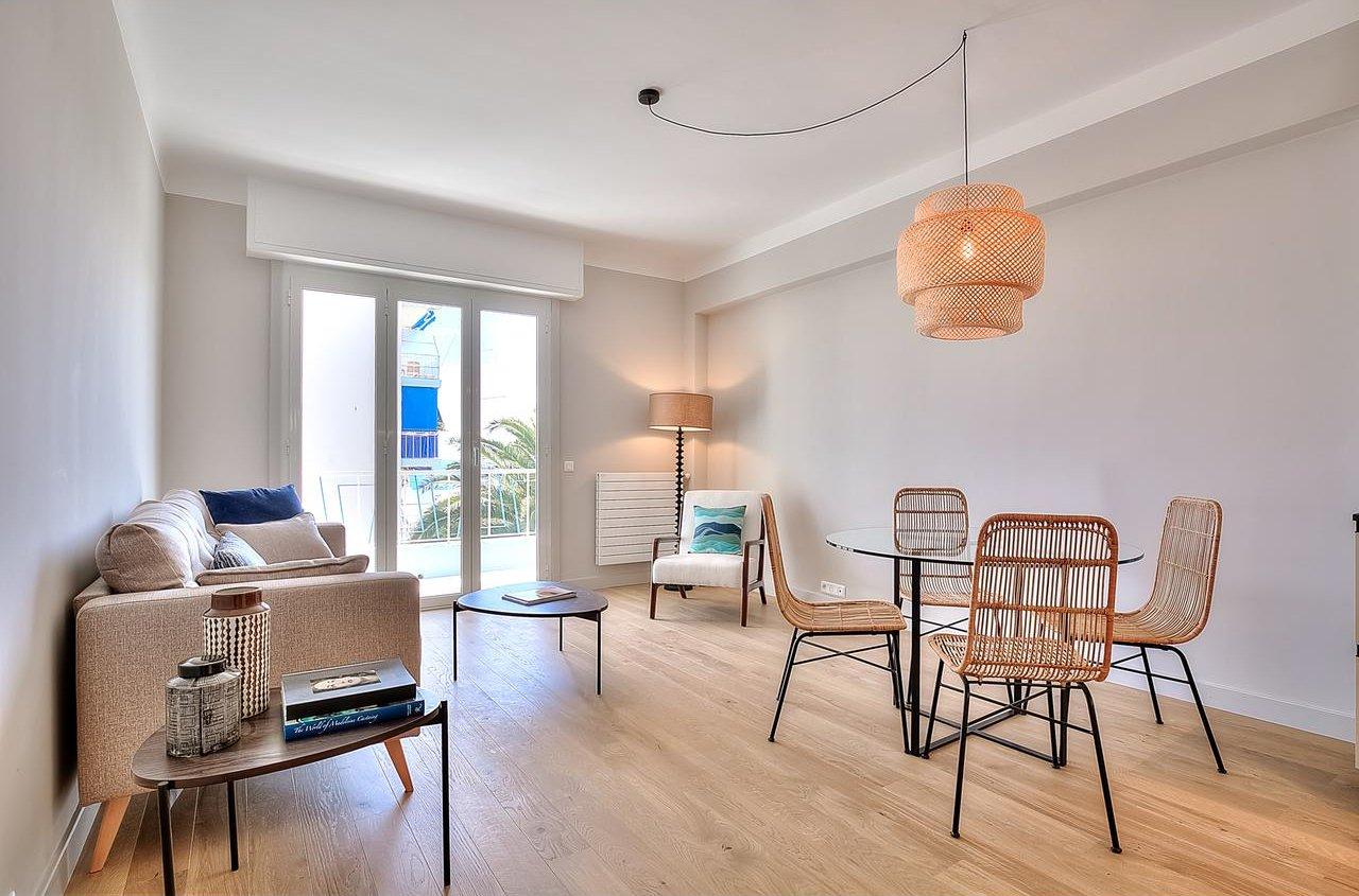 Appartement 2P avec terrasse et vue mer - Nice Le Port