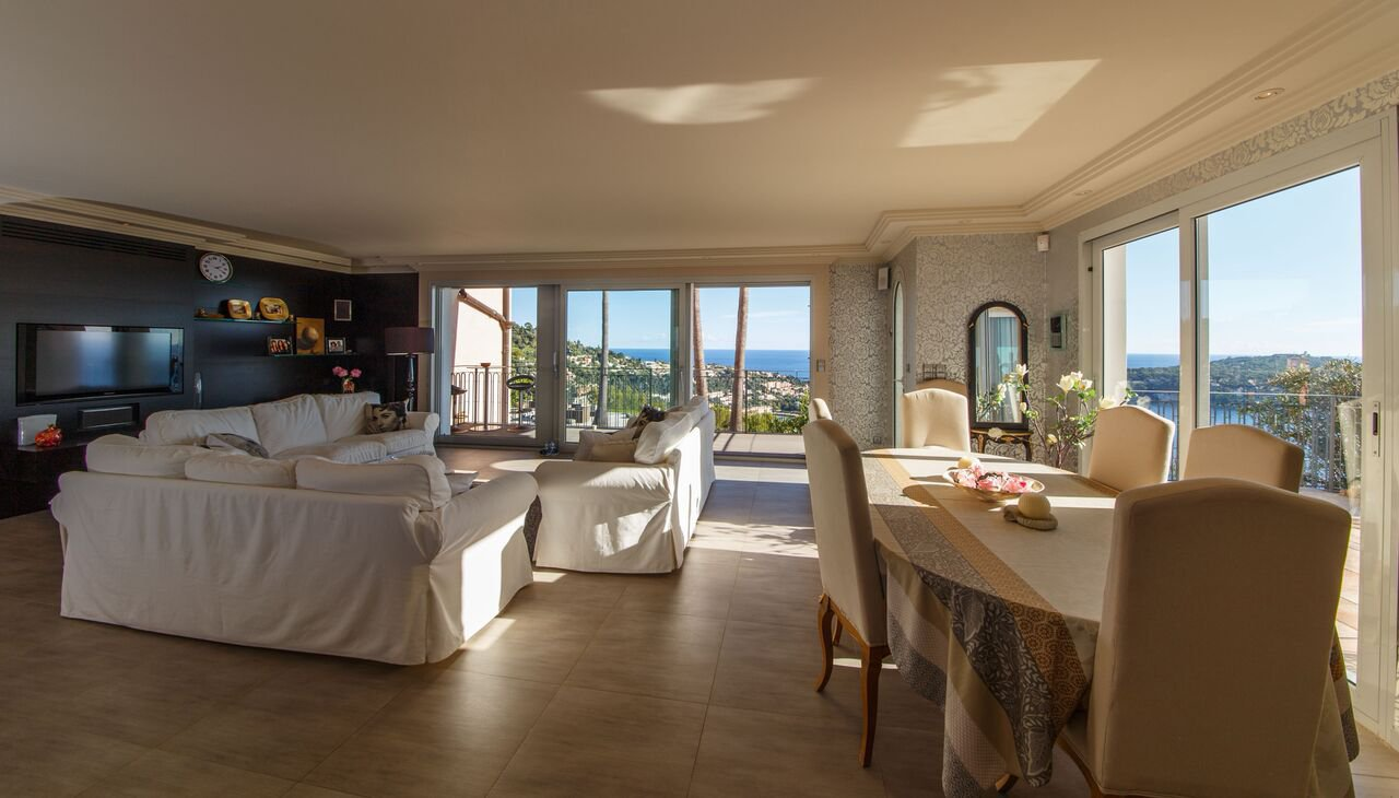 Villefranche-sur-Mer - Amazing villa-apartment with fantastic sea views