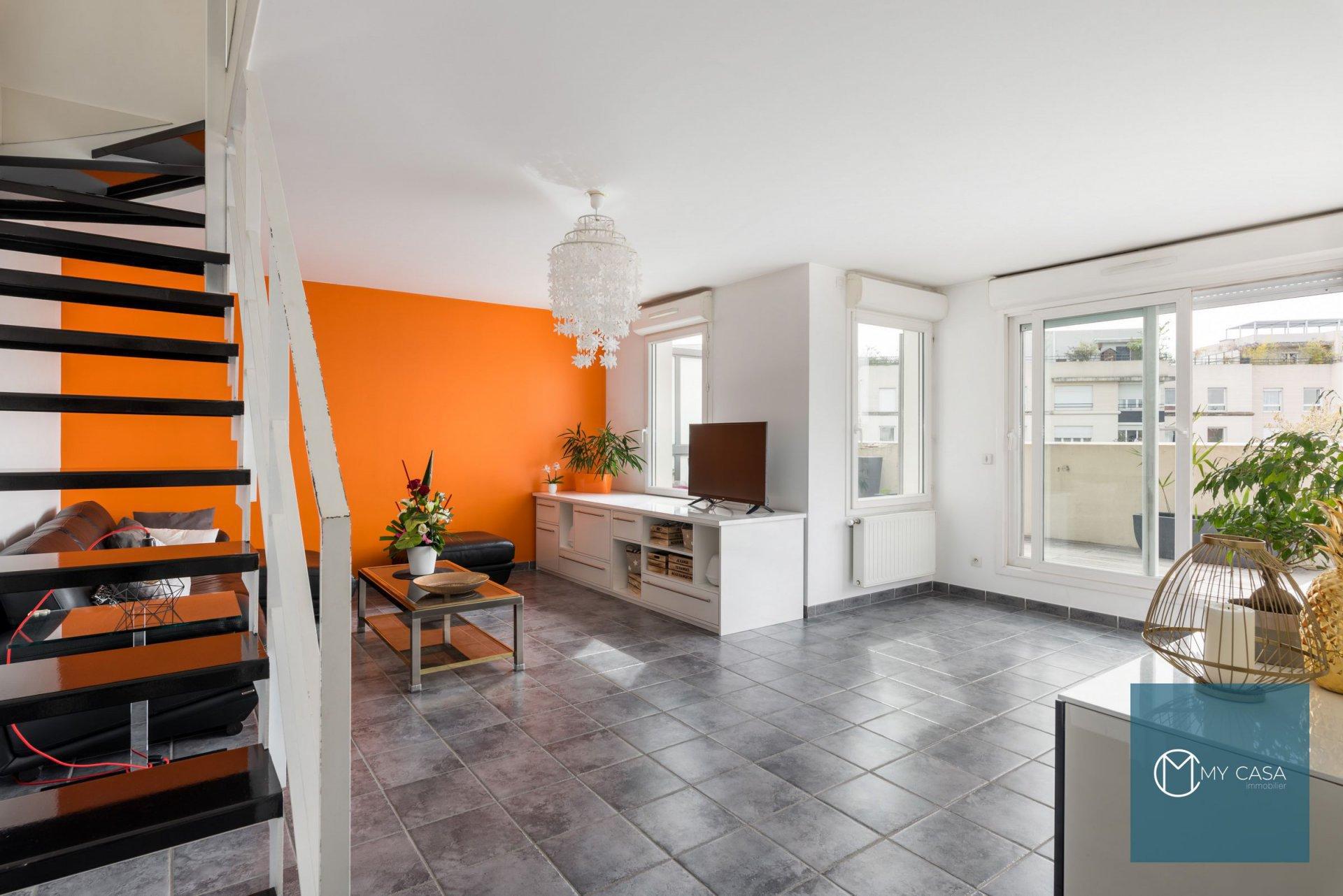 DERNIER ETAGE de 92 m2 avec Terrasse de 31 m2