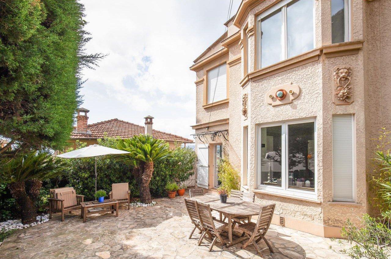 Belle maison bourgeois avec jardin - Nice Mont Boron