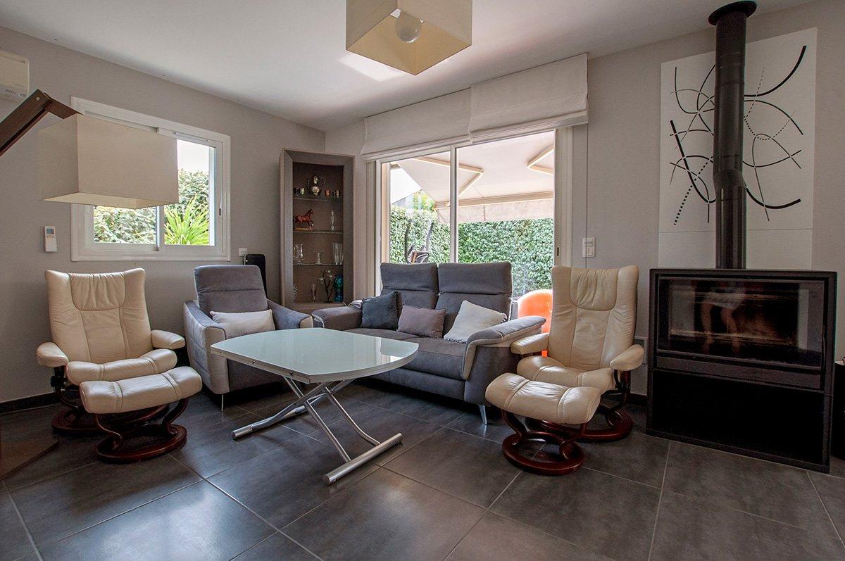 Villa contemporaine de plain pieds