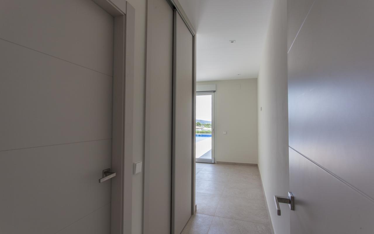 Brand new modern villa in Moraira
