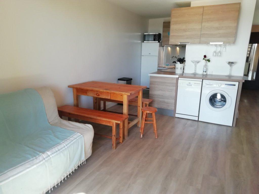 Appartement T2 dans résidence calme, proche plages