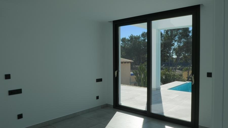 Brand new modern villa in Moraira