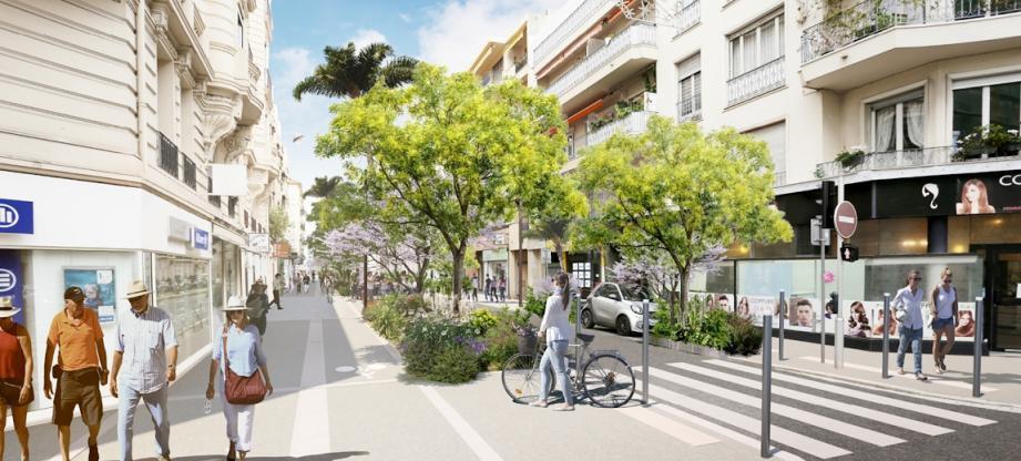 Projet végétalisation ville de Nice