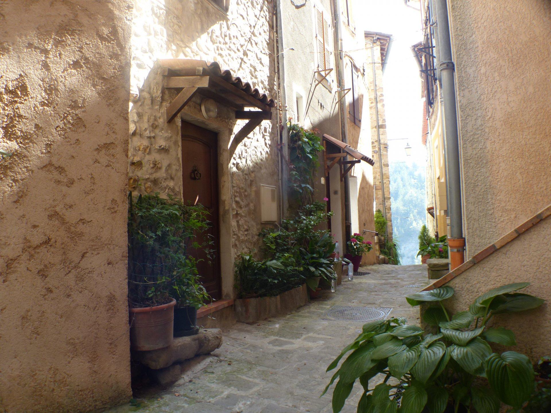 Lovely village stone house