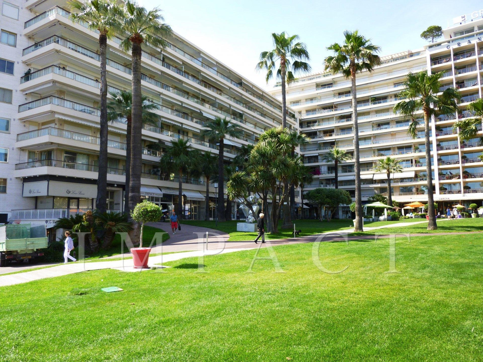 Apartment for rent in Cannes , sea and garden view