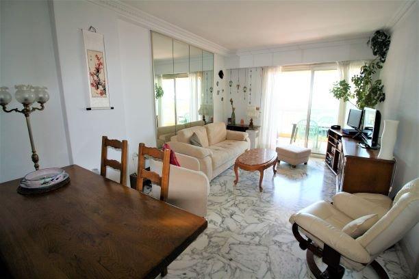 NICE NORD- LAS PLANAS - 2P VUE MER 57 m²