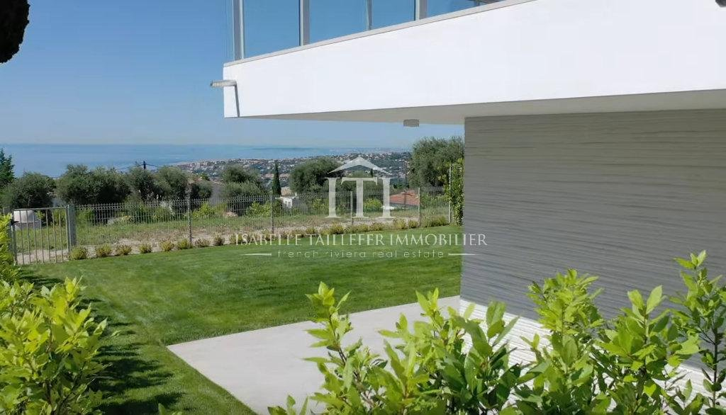 NICE RIVIERA  - APARTMENT with GARDEN and VIEW