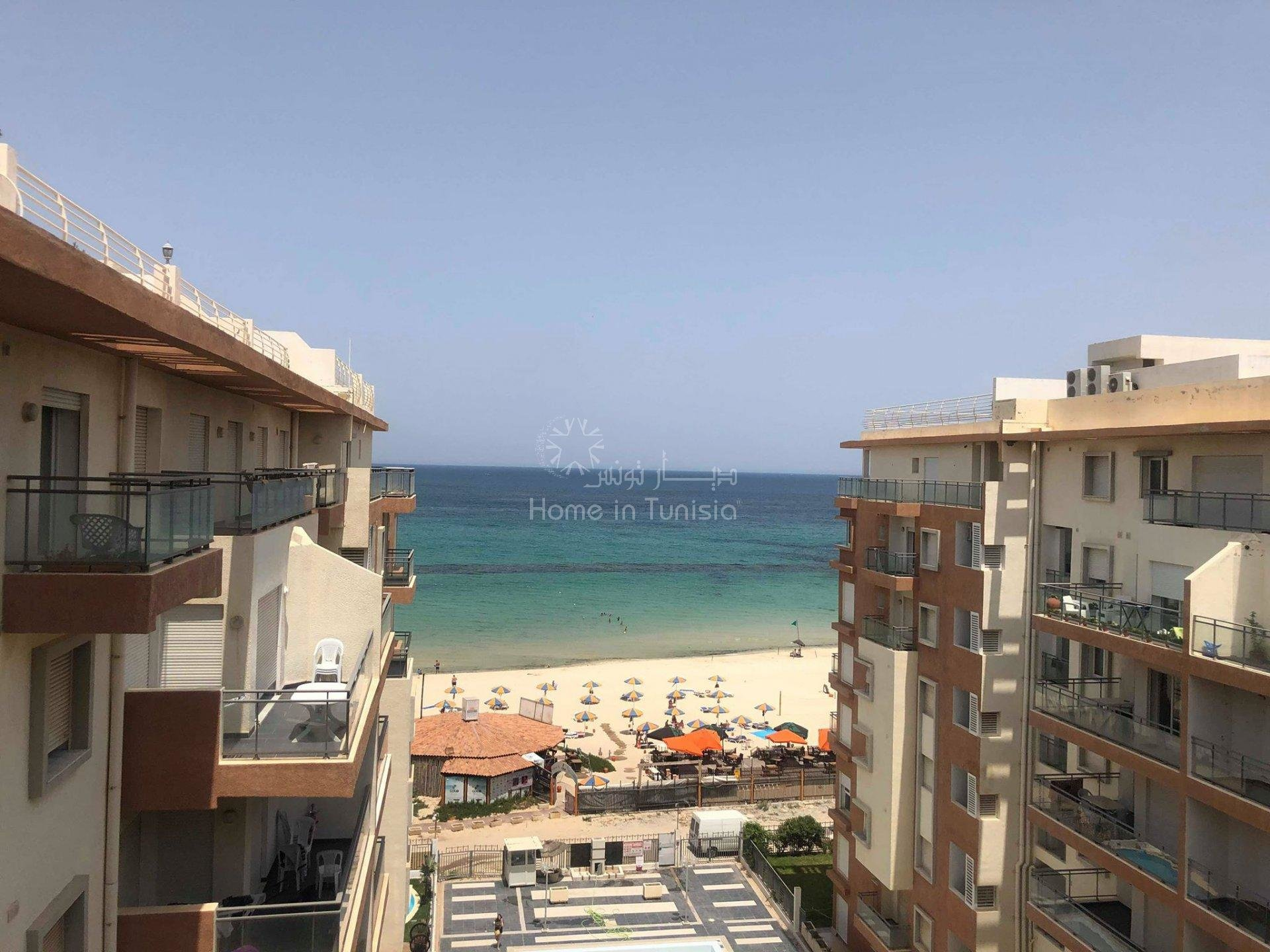S+2 vue mer sur la zone touristique