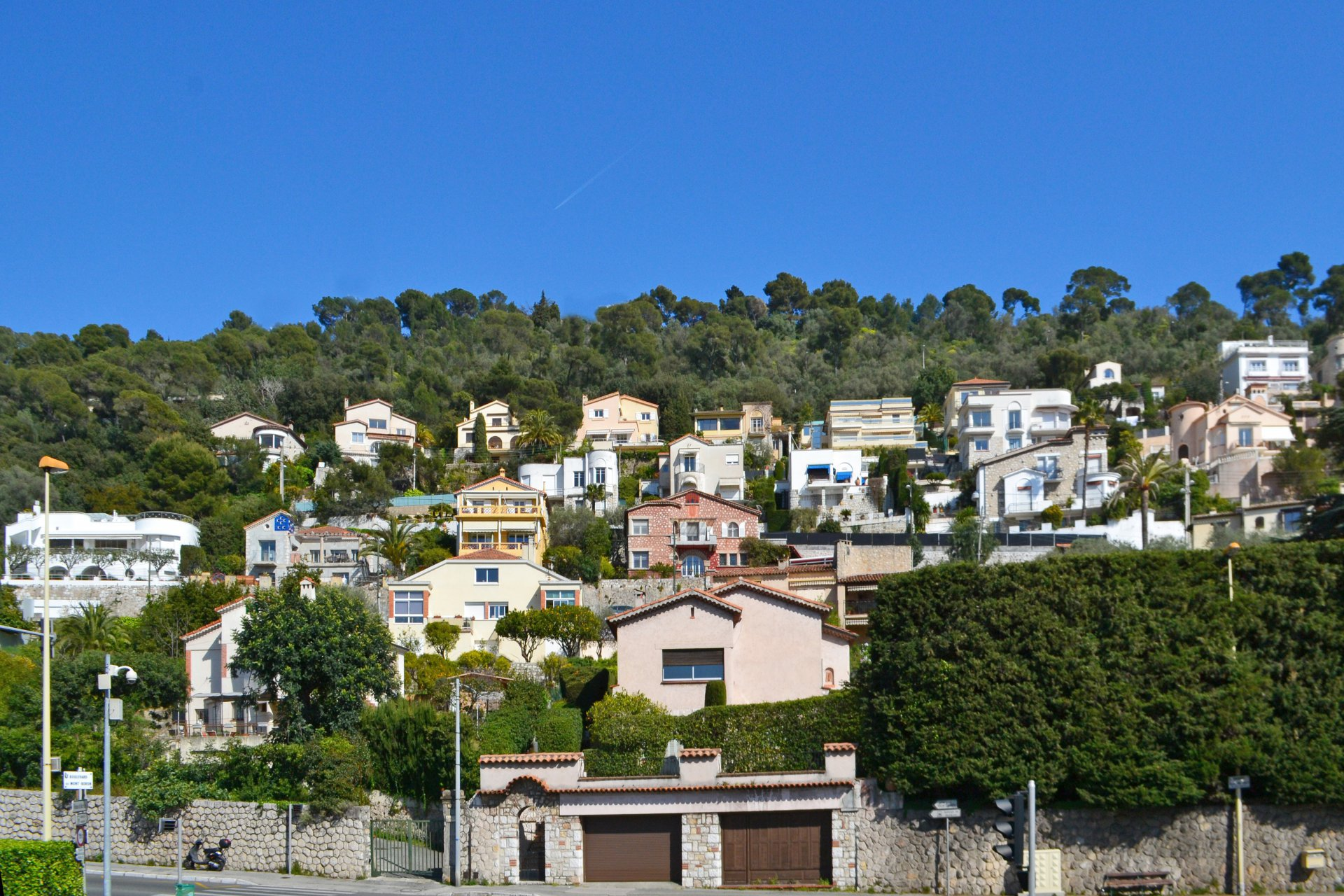 Nice Mont Boron - 2 bed apart 85m2 with beautiful views on cities, mountains and sea