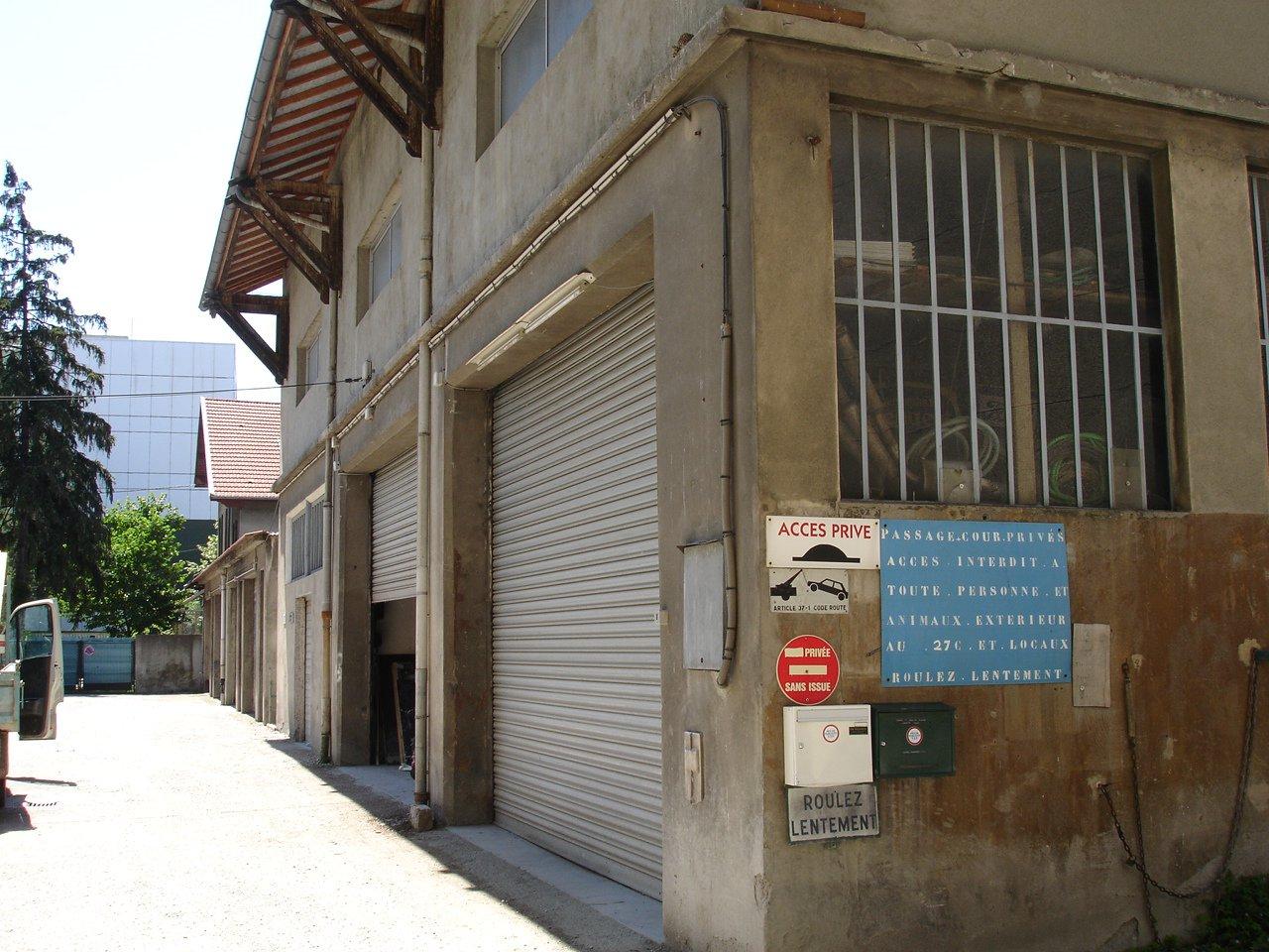 Rental Warehouse - Grenoble Eaux Claires