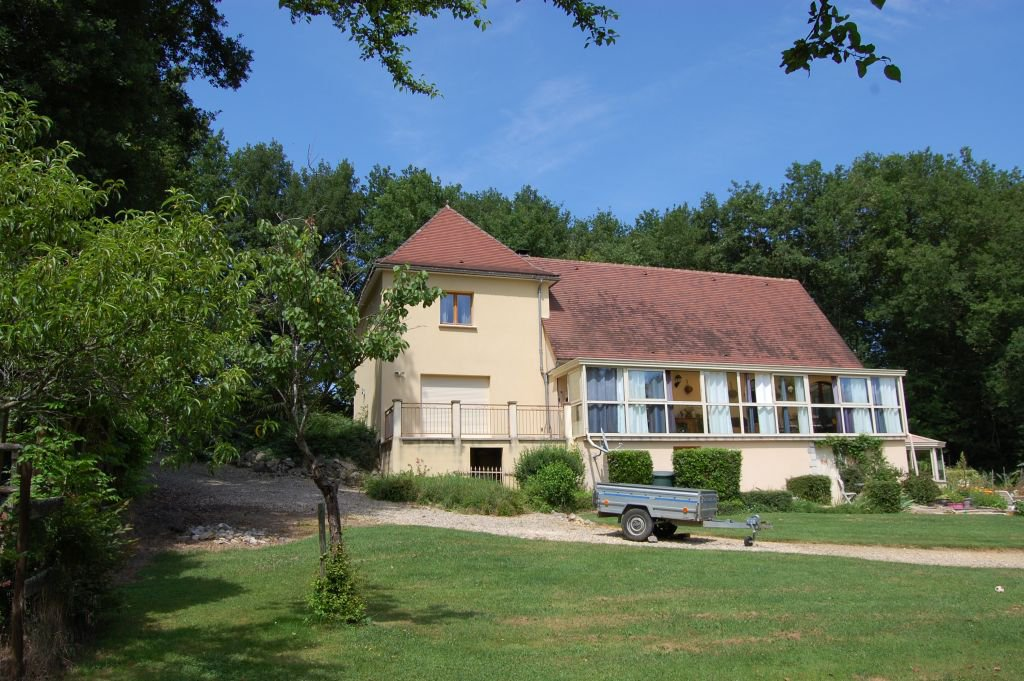 DORDOGNE - Black Perigord,  nice house from 2002 on 8.987 m2