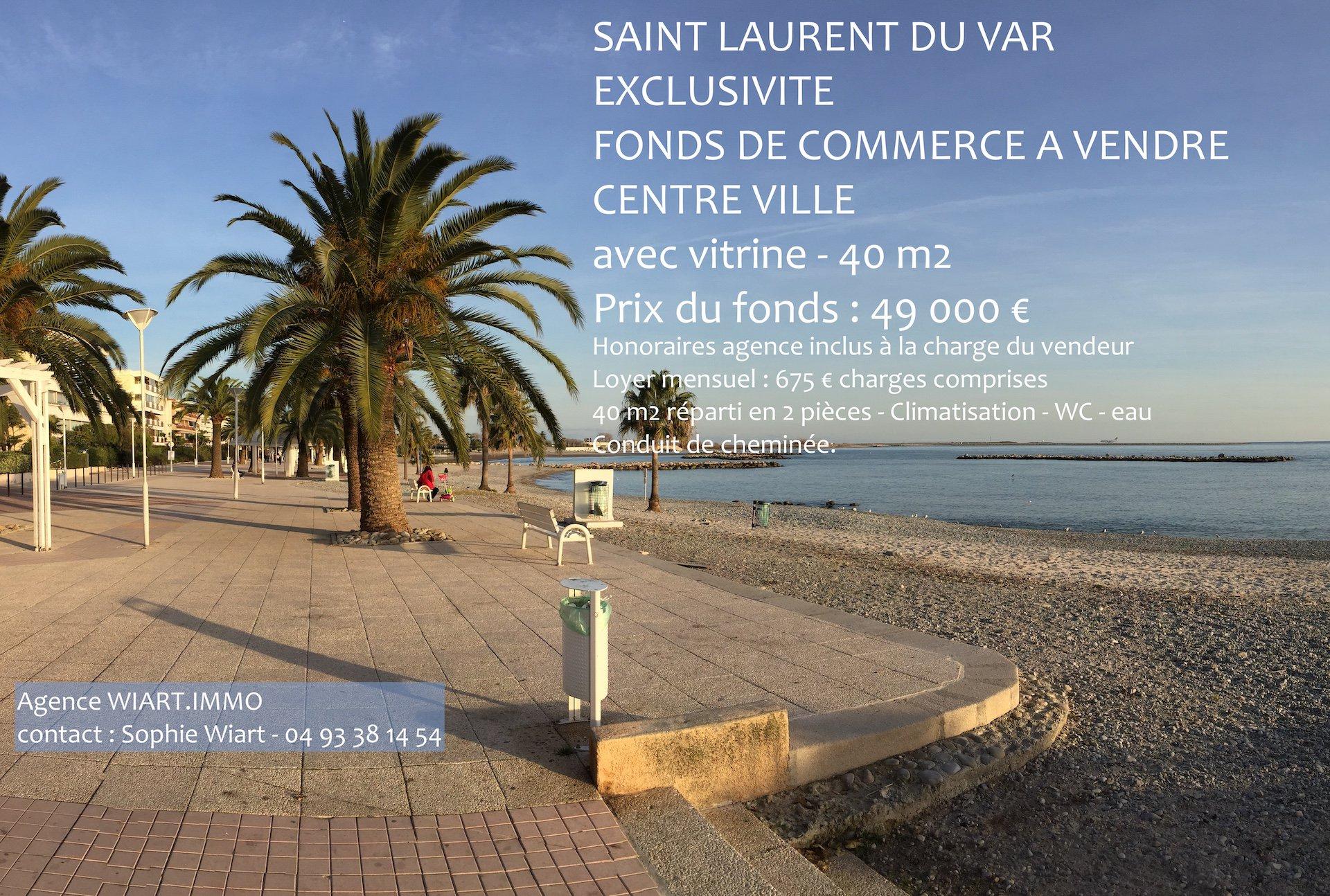 Sale Right to the lease - Saint-Laurent-du-Var Centre Ville