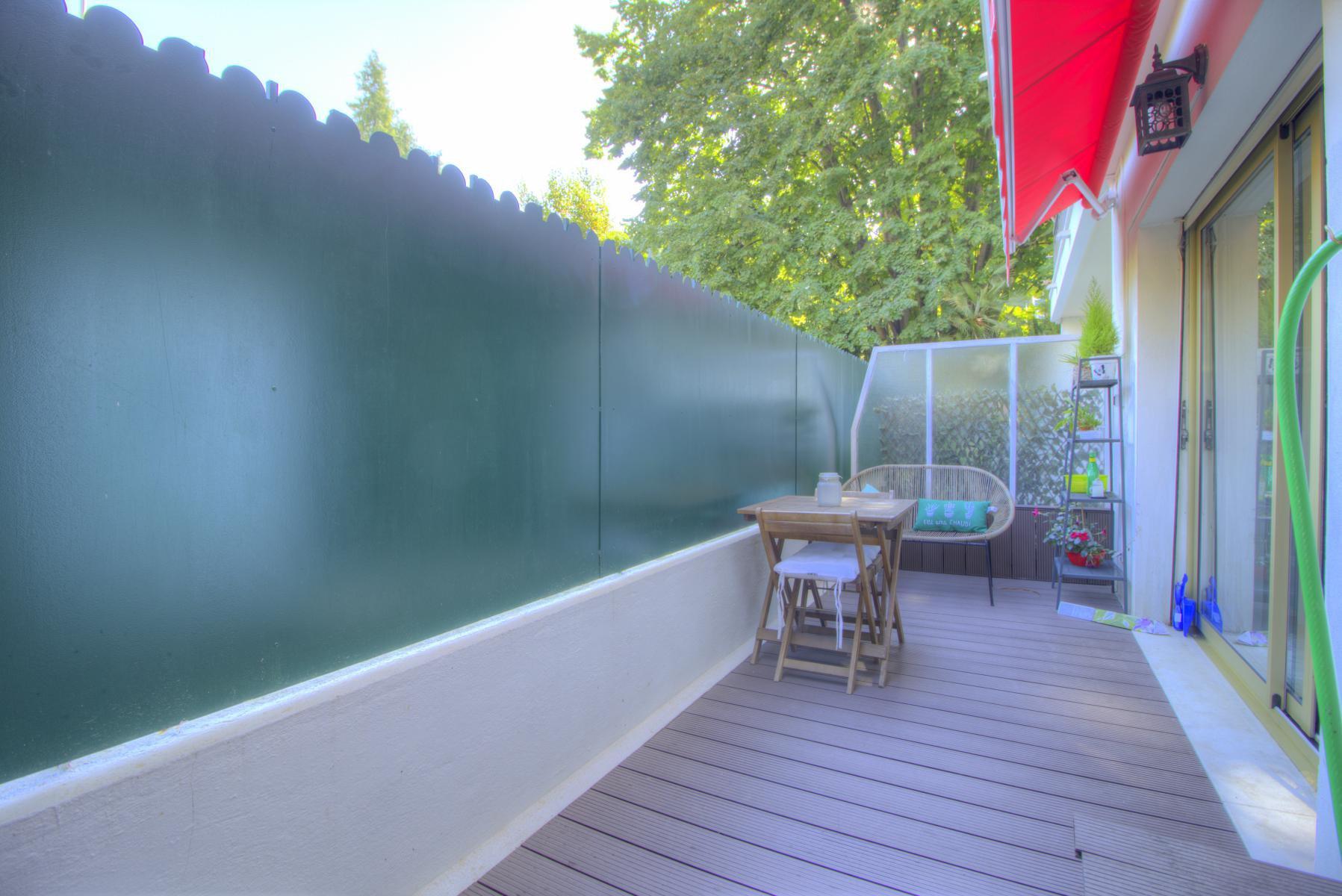 Studio Terrasse à louer, Nice, Chambrun