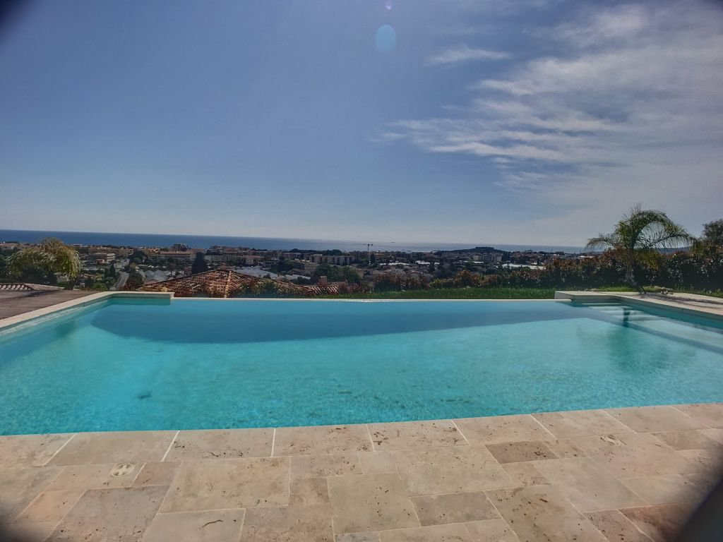 Panoramic view in Antibes
