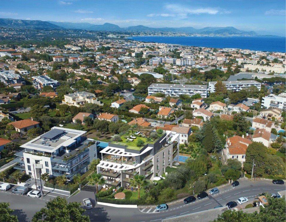 ANTIBES - Région PACA - vente appartement neuf - proche marina