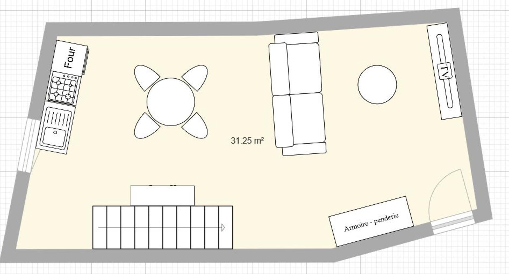 Lot de 3 plateaux pour créer 1 T3 duplex et 2 T2