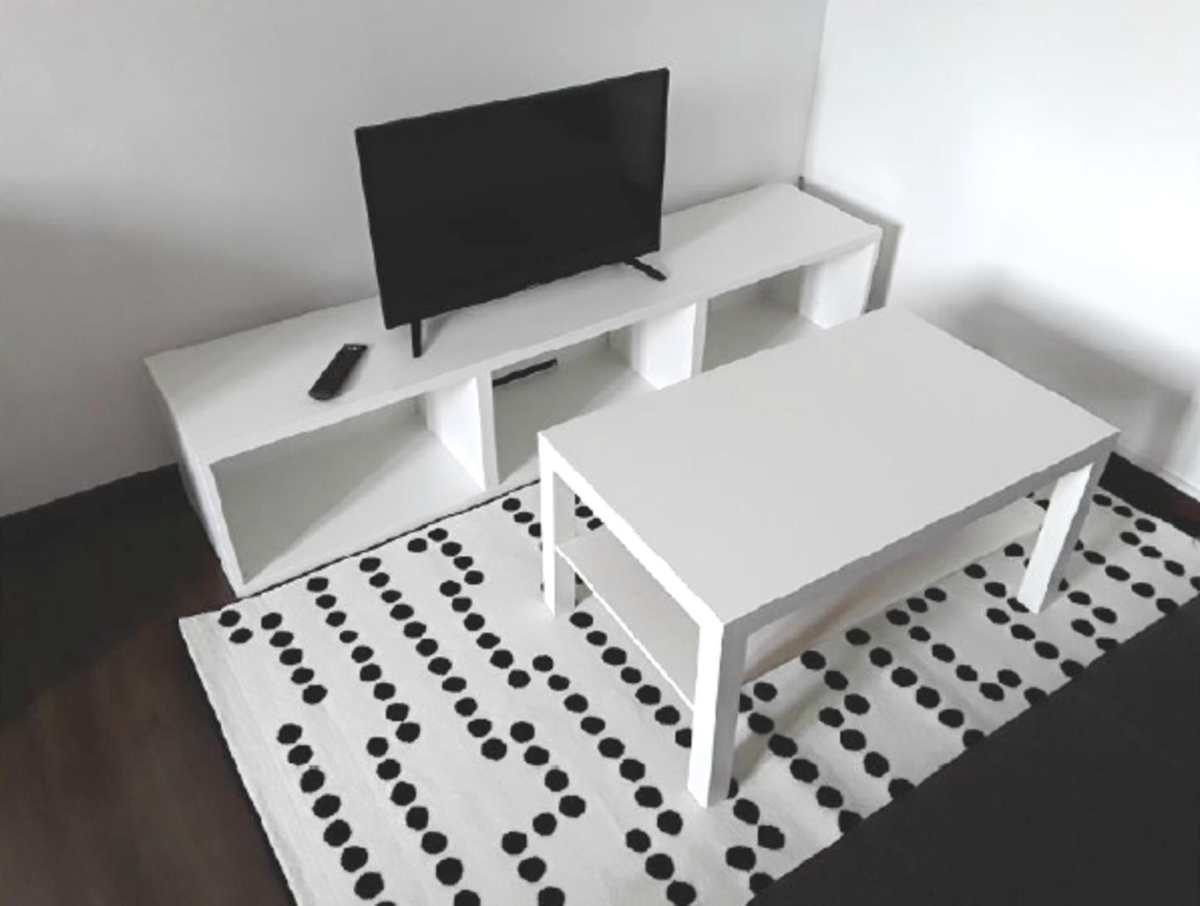 T2 meublé en duplex