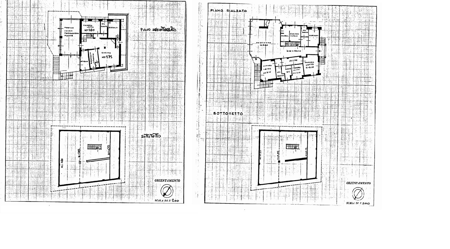 Elegant villa with garden for sale in Stresa - floor plan A
