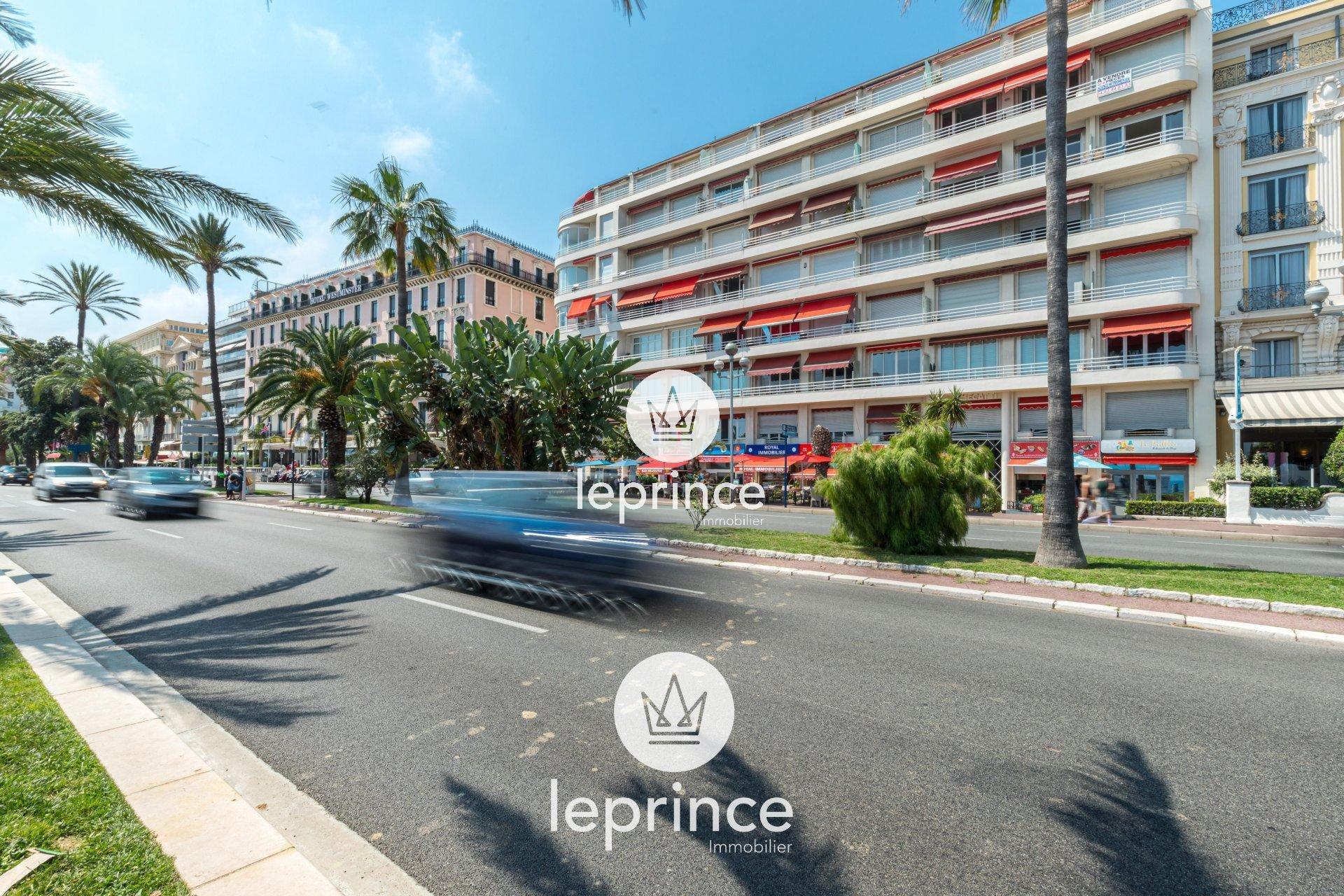 Nice Promenade des Anglais - 4 Pièces Rénové Terrasse Vue Mer