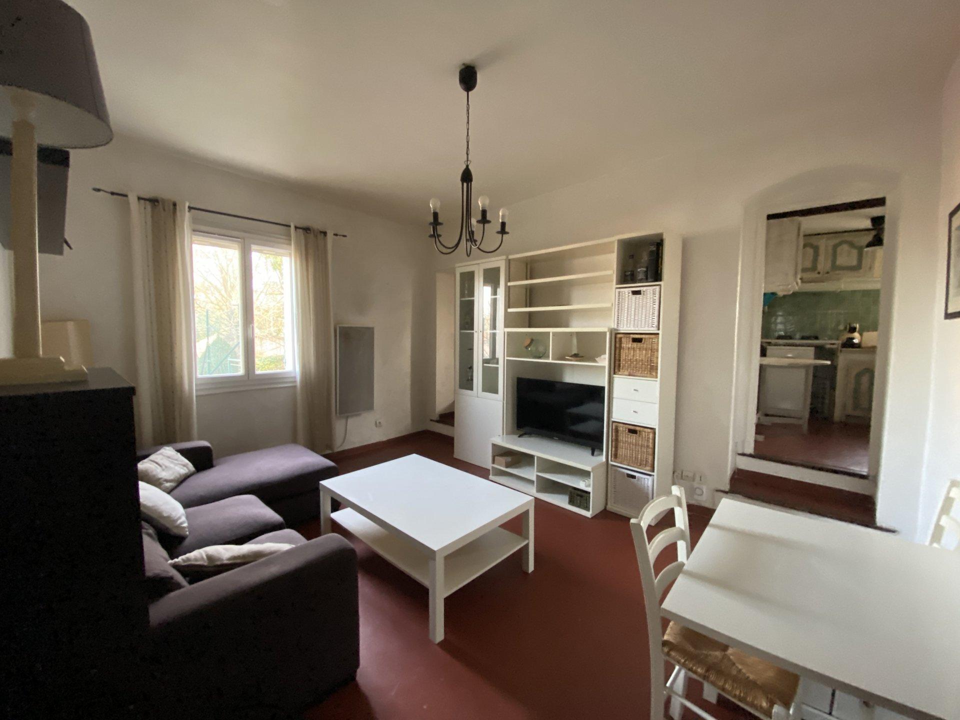location T3 meublé en résidence avec piscine et parking