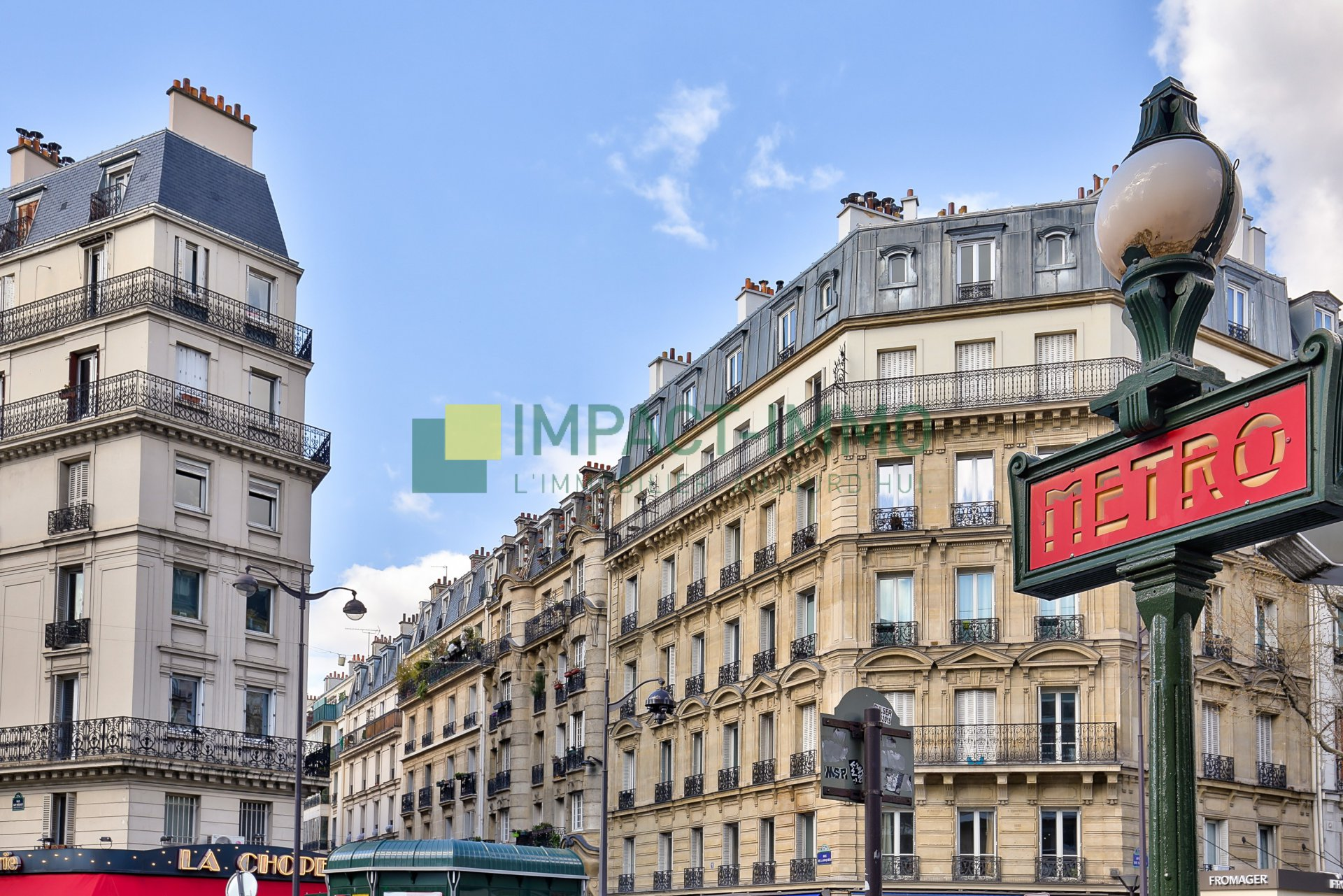 3 PIÈCES - GUY MOQUET - PARIS 18E