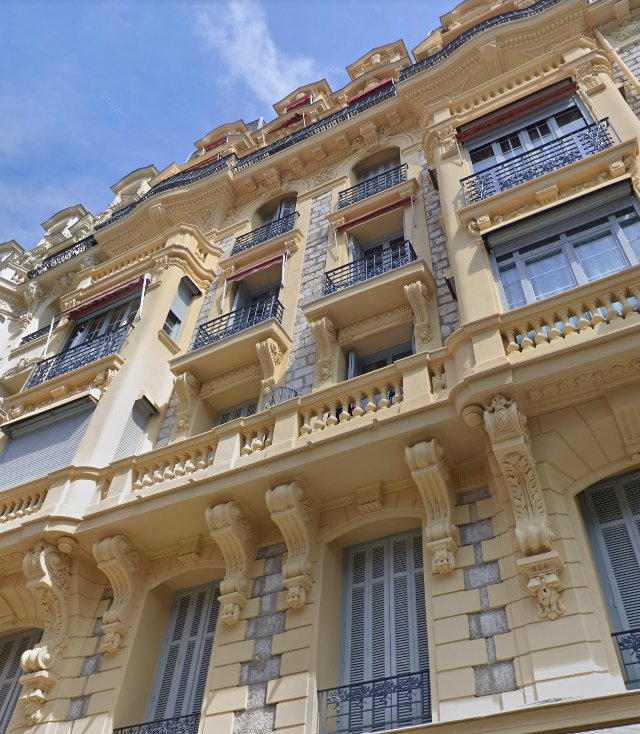 SALE Apartment 3 Rooms Nice Carré d'Or Top Floor Rooftop Terrace 57m² View!