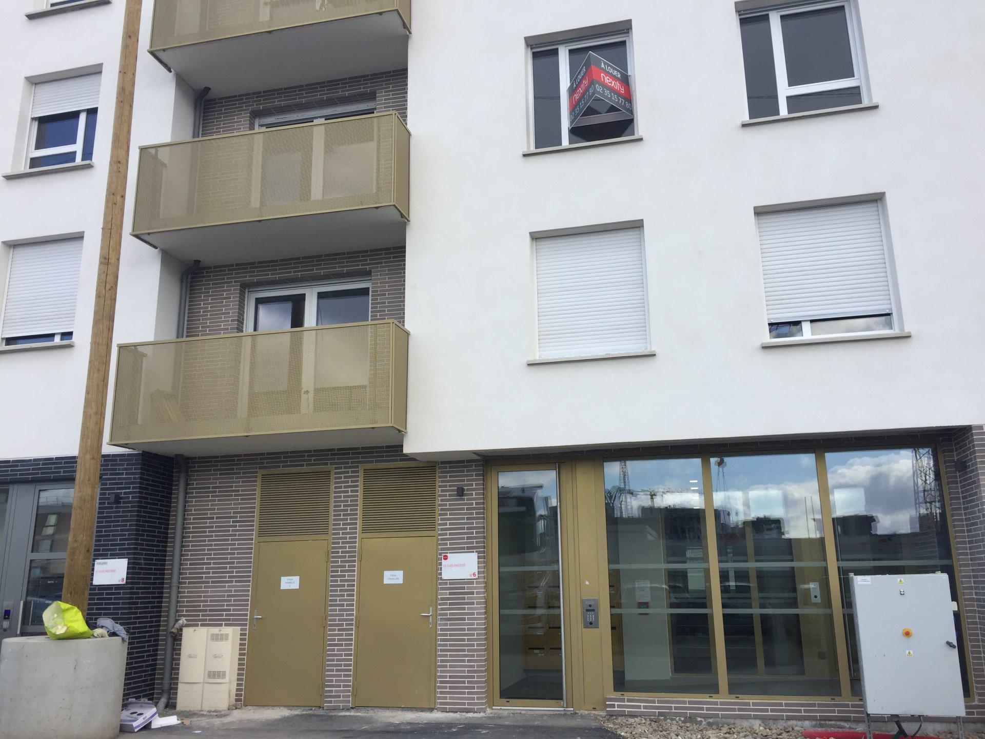 ROUEN, préfecture  ''Le Clos Pasteur'' T2 avec balcon