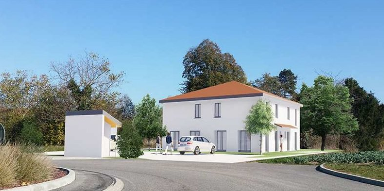 Centre ESTRABLIN, Villa T4 de 85 m².