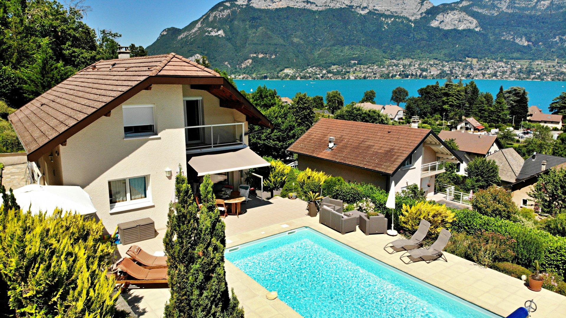 Maison vue Lac et Montagnes.