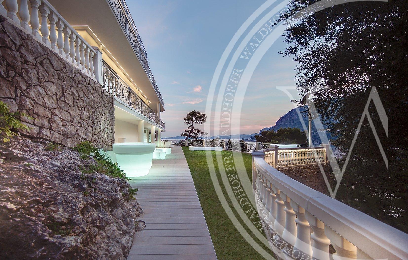 Villa sur la plage Cap d'Ail