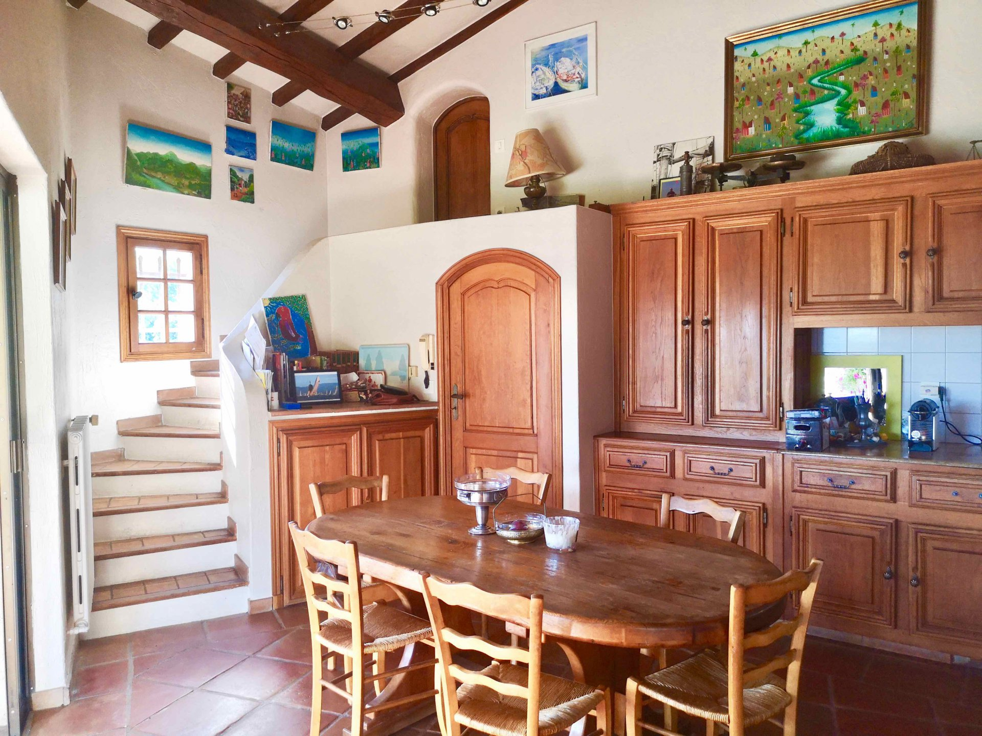 Charming stone house in Callian