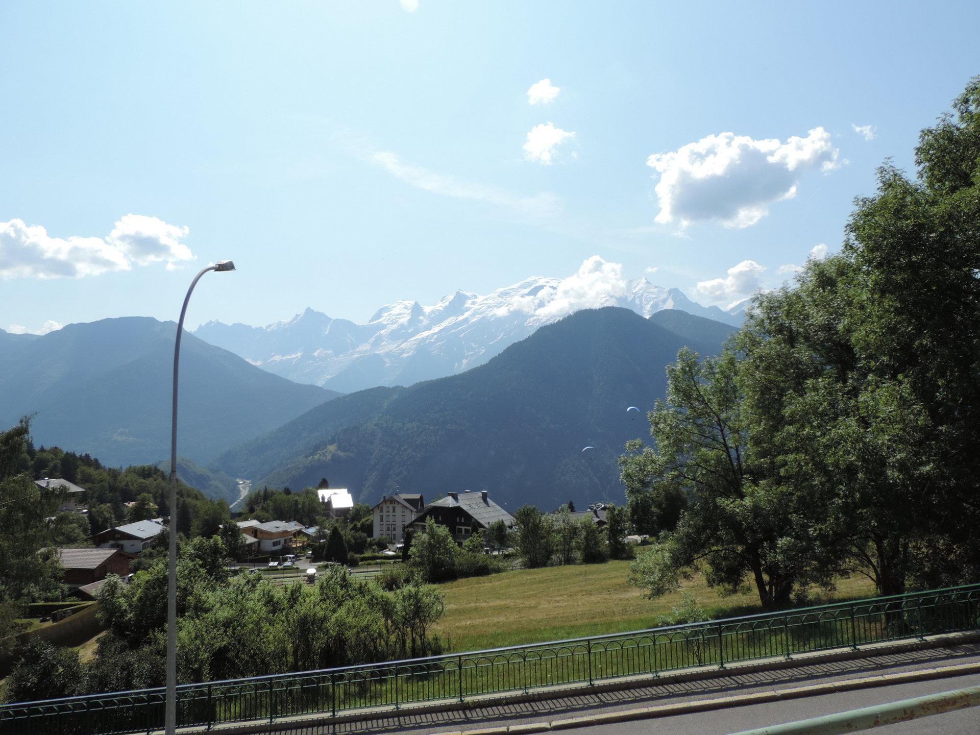 F3 vue Mont Blanc